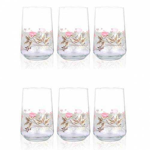 Acar 17084/16 Garden Romance 6lı Meşrubat Bardağı