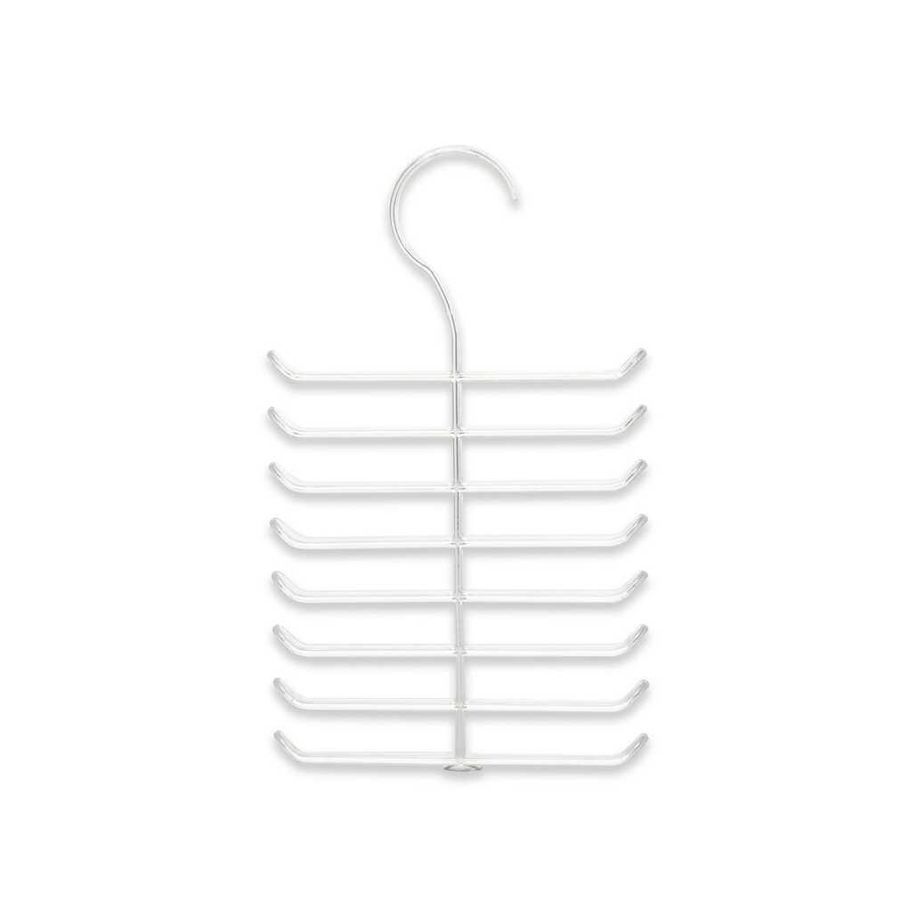 Deco Bella 16 Bölmeli Şeffaf Kravat Askısı