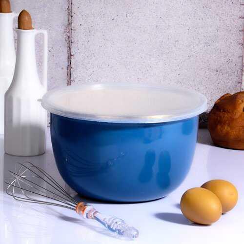 Kitchen World Navy Blue-110 24 Cm Emaye Karıştırma Kabı