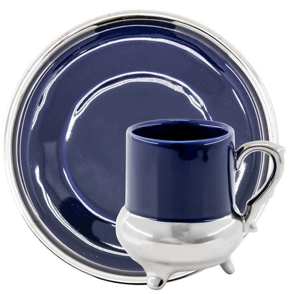 Kitchen World YFT-031 6lı Porselen Fincan Takımı Mavi