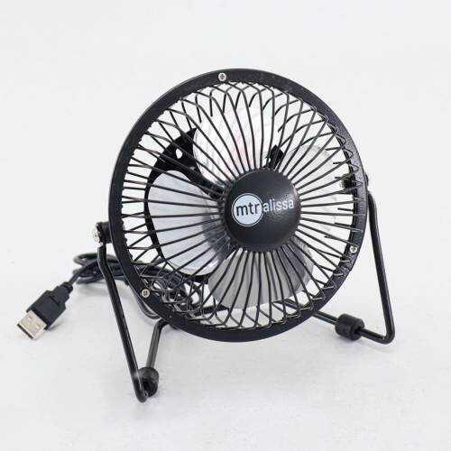Master EF-10 4'' USB Masa Üstü Metal Mini Fan