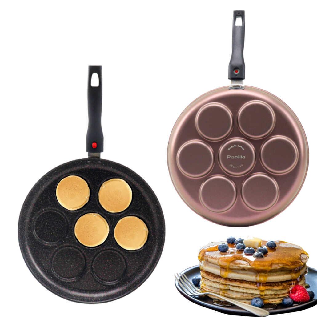 Papilla Pancake Mücver Tava 28 cm Bravo Rose