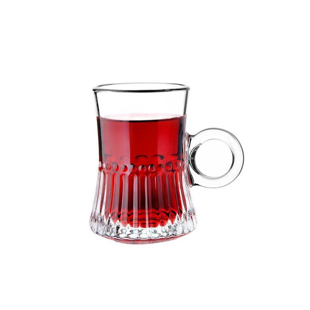 Perotti 11872 Gianluca 6lı Cam Çay Fincanı
