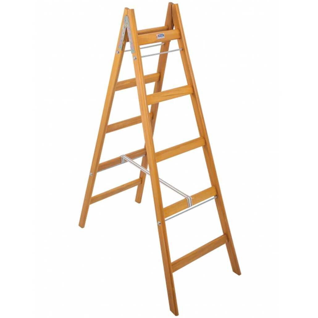 Saraylı 1405 5 Basamaklı A Tipi Ahşap Merdiven